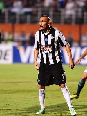 Guinazu jogo Palmeiras Libertad  (Foto: Marcos Ribolli / Globoesporte.com)