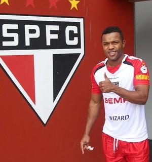 Dorlan Pabon São Paulo (Foto: site oficial / saopaulofc.net)