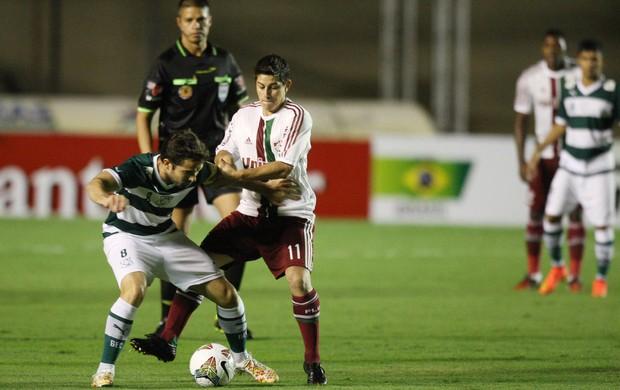 Conca Fluminense x Goiás (Foto: Zuhair Mohamad / Photocamera)