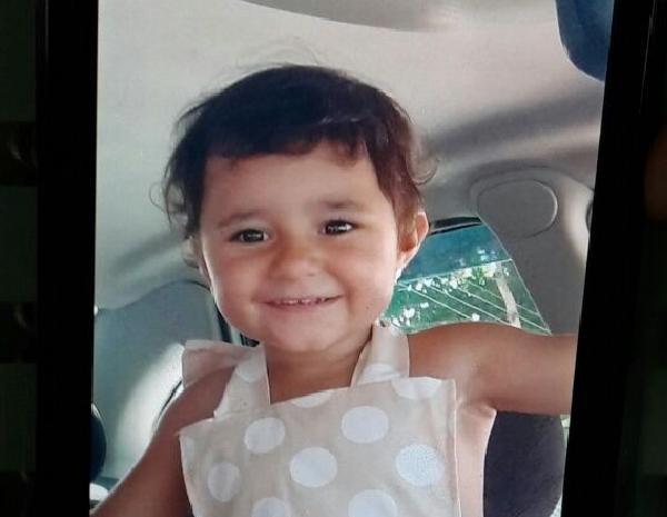 Eduarda morreu na última quarta-feira (1º) em São José (Foto: Arquivo pessoal/Hellen Alves)
