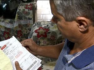 Funcionário público diz que valor aumentou demais (Foto: Rodrigo Sargaço/EPTV)