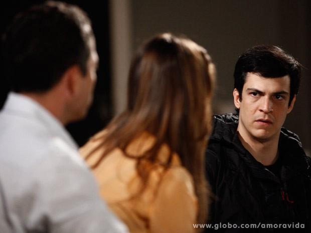 Félix cnta tudo que já fez contra a irmã (Foto: Inácio Moraes/TV Globo)