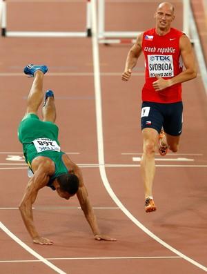 João Vitor de Oliveira 110m com barreiras Mundial (Foto: Getty Images)