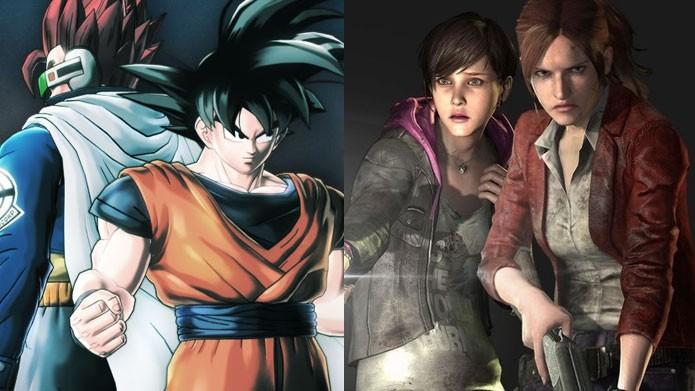 Novos Dragon Ball e Resident Evil chegam às prateleiras (Foto: Reprodução/Felipe Vinha)