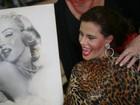 Narcisa Tamborindeguy testa fantasia de Marilyn Monroe