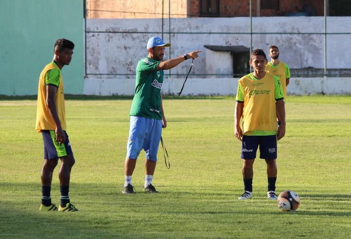 São José vem ultimando preparação para partida decisiva diante do Cordino, no Leandrão (Foto: Lucas Almeida/L17 Comunicação)