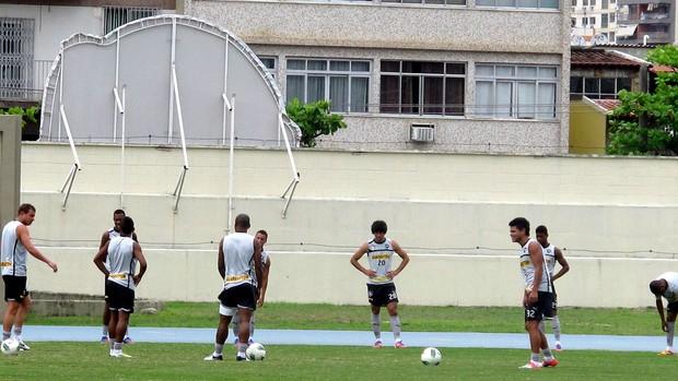 jogadores botafogo treino (Foto: Raphael Marinho / Globoesporte.com)