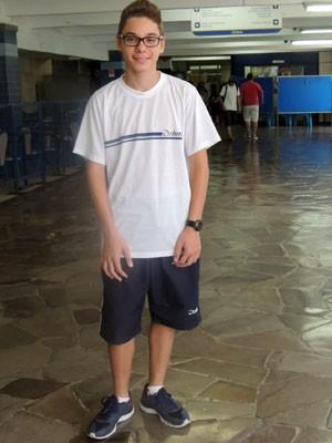 Elias passará por treinamento no Rio antes do embarque (Foto: Luiza Carneiro/G1)