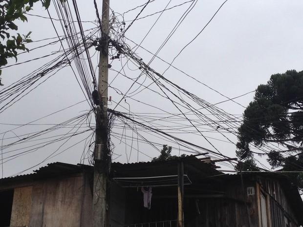 Copel informou o desligamento de 50 ligações clandestinas (Foto: Divulgação/Copel)