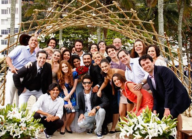 Casamento Gracinha e Pedro (Foto: Amor Eterno Amor/TV Globo)
