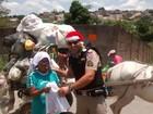 PM de Divinópolis distribui kits escolares e brinquedos