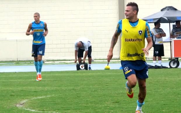 Fabio Ferreira no treino do Botafogo (Foto: Raphael Marinho / Globoesporte.com)