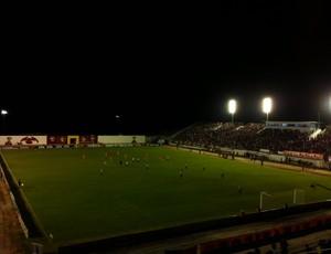 Estádio Barretão, em Ceará-Mirim, recebe América-RN x Atlético-PR (Foto: Jocaff Souza)