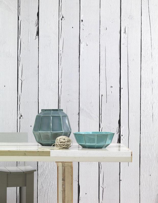 Papel de parede que imita madeira casa vogue revestimentos for Papel de pared madera