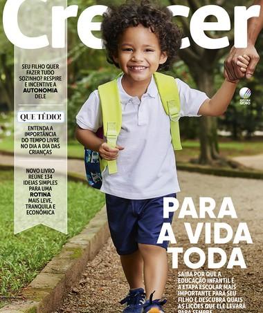 Capa da edição 279 (Foto: Crescer/ Editora Globo)
