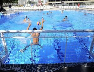 Seleção brasileira de polo aquático (Foto: Marcos Ribolli)