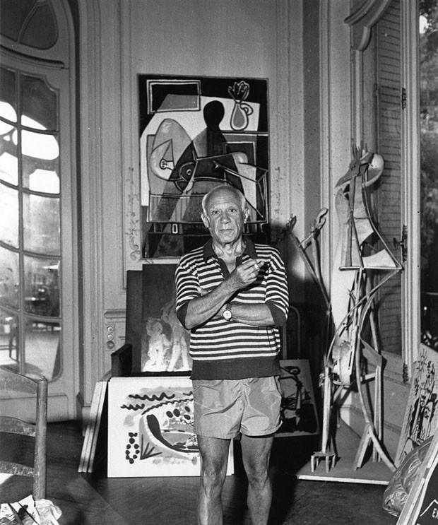 Pablo Picasso usou ingrediente ousado em suas obras de arte (Foto: George Stroud/Express/Getty Images)