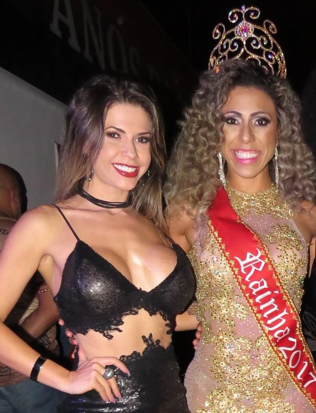 Cacau Colucci com a modelo Fernanda Catanoce  (Foto: Renato Cipriano - Divulgação)