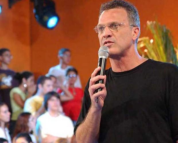 Bial no BBB 4 (Foto: Divulgação/TV Globo)