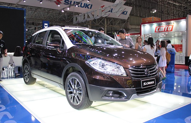 Suzuki apresenta novo jipinho S-Cross no Salão do Automóvel