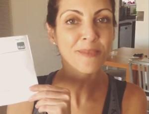 Thalita Rebouças adere ao desagio da estrela (Foto: Reprodução/Instagram)