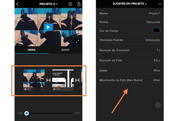 Defina algumas informações sobre o seu vídeo no Splice antes de começar (Foto: Reprodução/Melissa Cruz)