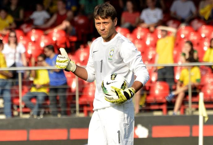 Diego Alves Seleção Brasileira (Foto: Daniel Carreira | TXT Assessoria)