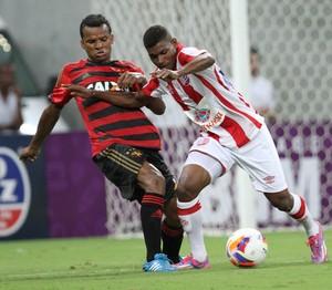 Jefferson Nem Sport x Náutico (Foto: Aldo Carneiro/Pernambuco Press)