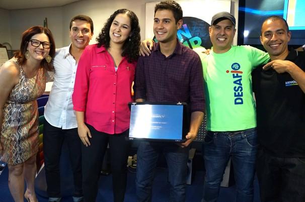 Equipe do Desafio Vanguarda reunida (Foto: Paula Franco/ Vanguarda)