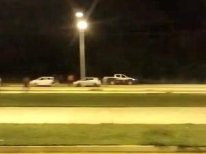 Vídeo divulgado em redes sociais mostra momento da perseguição policial  (Foto: Redes Sociais/ Divulgação)