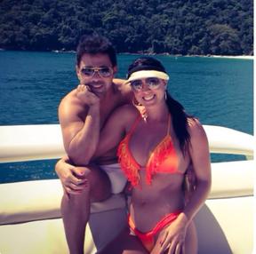 Graciele Lacerda e Zezé di Camargo (Foto: Reprodução/Instagram)