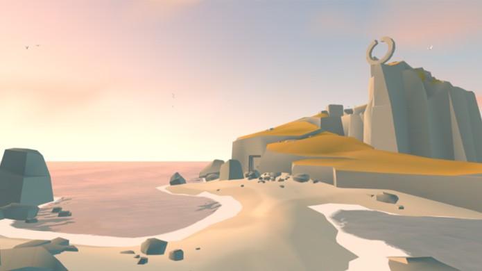Belo cenário de Lands End criar uma experiência inovadora e relaxante (Foto: Reprodução/Wired)