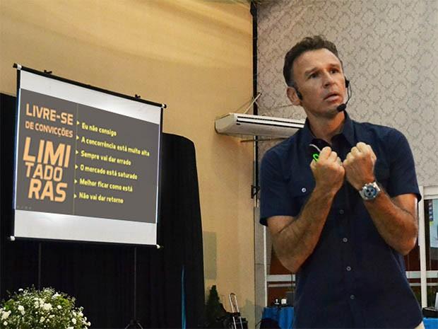 Oliveira Neto, preparador físico e técnico de vôlei de praia da dupla Larissa e Talita, é um dos palestrantes (Foto: Divulgação)