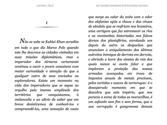 Arrasta dois dedos para cima ou para baixo, iniciando a leitura contínua ou a interpretação da página visualizada, respectivamente (Foto: Daniel Ribeiro / TechTudo)