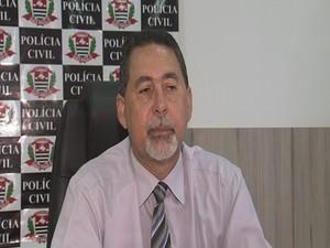 Delegado Airton Honório diz que caso é grave (Foto: Reprodução/ TV TEM)