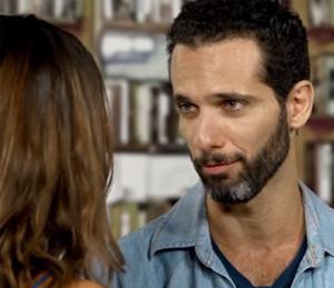 Mouhamed fazendo o sedutor (Foto: Gshow)