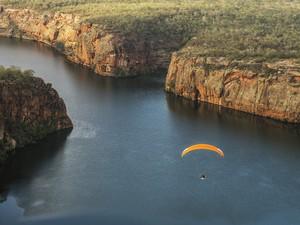 Lu Marini já sobrevoou outros rios (Foto: Divulgação)