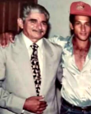 João Asfury (na foto de terno) foi o primeiro prefeito de Porto Acre, em 1993 (Foto: Marcos Caruta/Arquivo Pessoal)