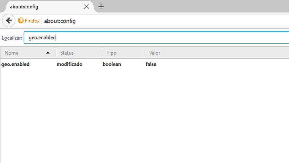 Opções do Firefox estão escondidas em configurações avançadas (Foto: Reprodução/Firefox)