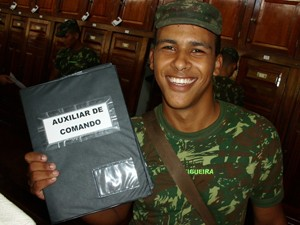 Vinícius Figueira, que morreu na explosão de uma mina na Vila Militar (Foto: Arquivo Pessoal/Reprodução)