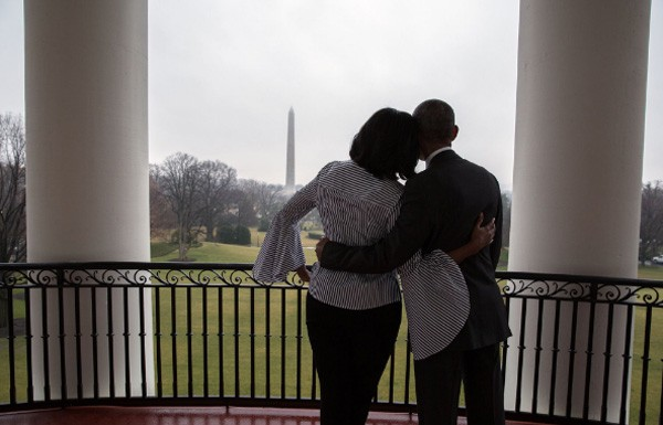 Michelle e Barack Obama (Foto: Reprodução/Twitter)
