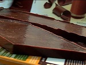 Chocolate funcional rende R$ 100 mil por mês (Foto: Reprodução/TV Globo)