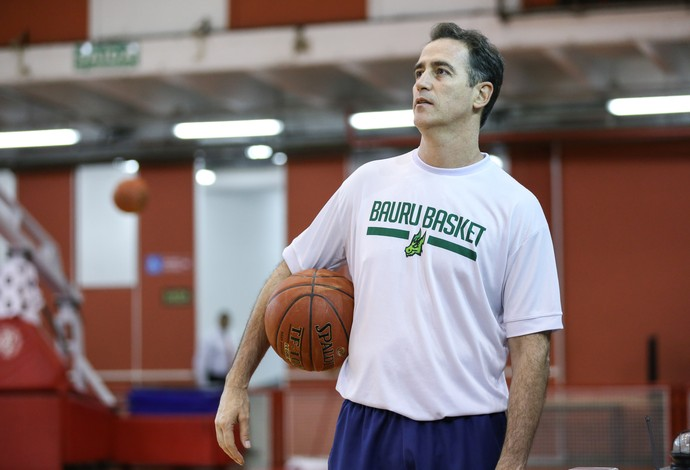 Demétrius Ferracciú, treino, Bauru Basket (Foto: Caio Casagrande / Bauru Basket)