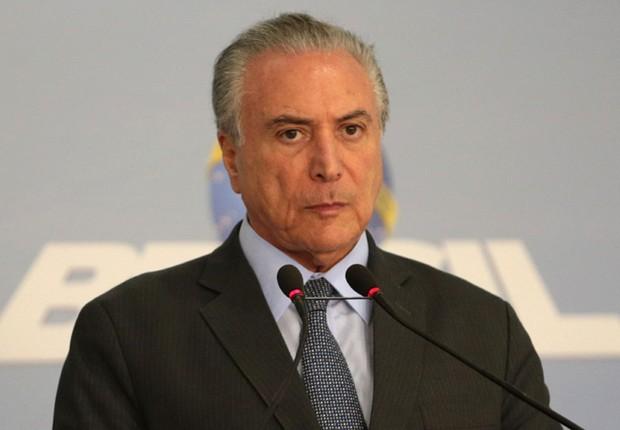 O presidente Michel Temer (Foto: José Cruz/Agência Brasil)