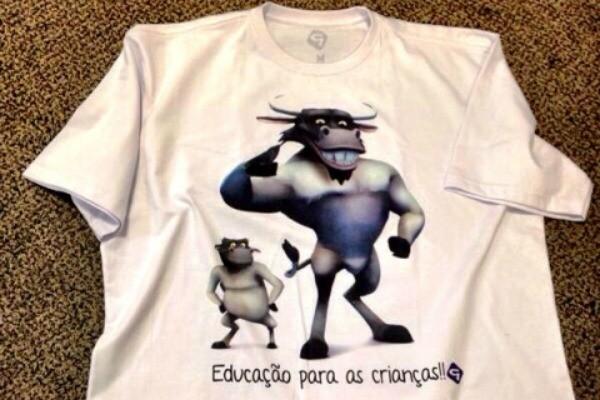 Camiseta do Boi da Cara Preta (Foto: Divulgação/RBS TV)