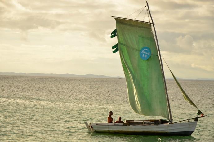 O cenário foi preparado no clima de 'Arraial de Sol Nascente' (Foto: Eli Cruz)
