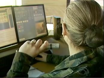 Novos equipamentos aumentam a precisão no controle do espaço aéreo (Foto: Reprodução RBS TV)