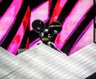 Deadmau5 no Lolla tem remix rock e 'cosplay' (Raul Zito/G1)