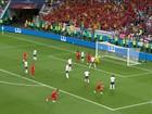 Bélgica vence Inglaterra e se classifica em primeiro no Grupo G