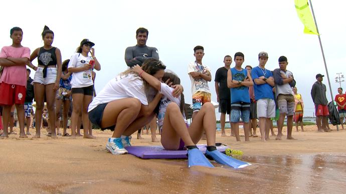 Amor de mãe e filha também no esporte (Foto: Divulgação / TV Gazeta ES)
